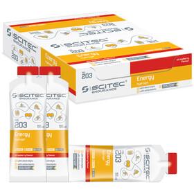 SCITEC Energy Gel Box 12x55ml Strawberry